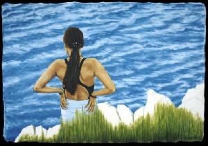 Minja am Meer